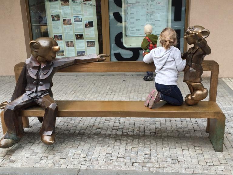 Prague puppetshow