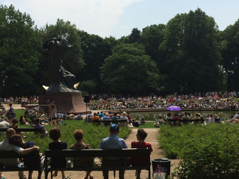Chopin in the park