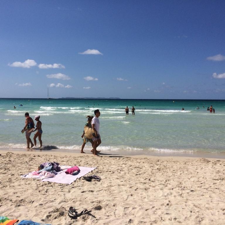 Sa Rapita Beach in Mallorca
